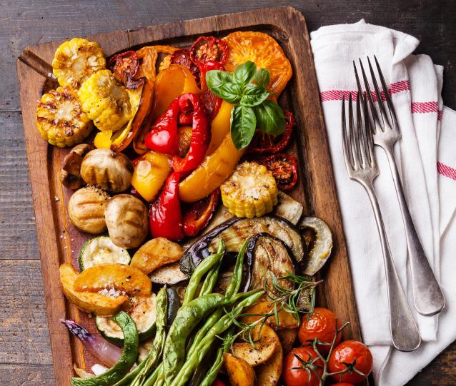 vegetarian catering