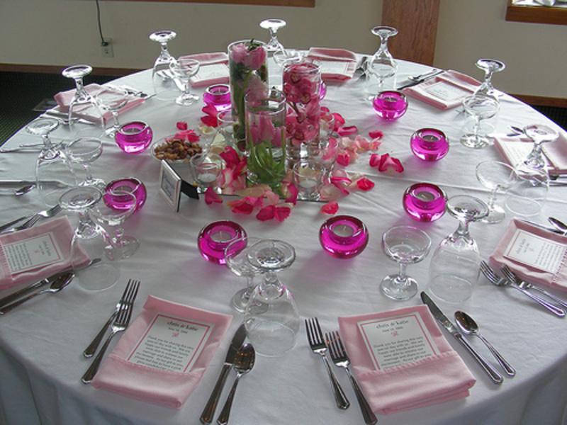 Table Arrangement For Wedding Reception Kubreforic